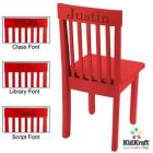 KidKraft Avalon Chair- Red