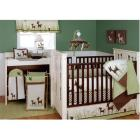 Kids Line Willow Organic Four Piece Crib Bedding S
