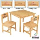 KidKraft Aspen Table and Chairs Set- Natural