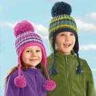 Baby & Kids Snowball Sweater Knit Winter Hat