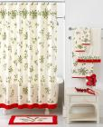"Lenox Holiday ""Ribbon & Holly"" Bath Coll"