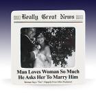 Man Loves Woman Photo Frame by Lenox