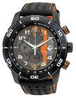 CITIZEN Mens Primo Chronograph Watch in Black and