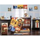 Kids Line Jungle 123 Eight Piece Crib Bedding Set