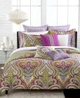 CLOSEOUT! Echo Vineyard Paisley Reversible Bedding