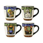 Pfaltzgraff Pfaltzgraff® Set of 4 Halloween Mugs