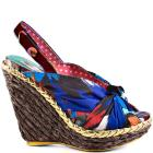 Irregular Choice Amys Lasagne - Tan Green