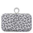 Fioni Night Women's Skull Roslyn Clutch