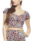 Colored Leopard Crop Top