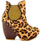 Irregular Choice Collagen Kiss - Leopard