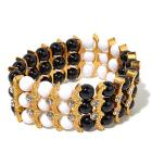 IMAN Global Chic 2-Tone Stretch Bracelet