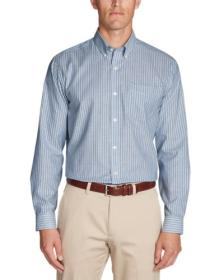 Men's Wrinkle-Free Relaxed Fit Oxford Cloth Sh