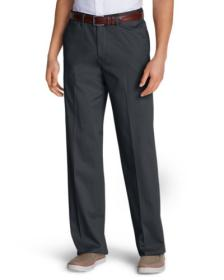 Men's Wrinkle-Free Relaxed Fit Comfort Waist F