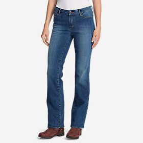 Women's StayShape® Boot Cut Jeans - Slight