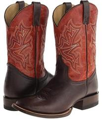 """Stetson 11"""" Shaft Double Welt Wide Square Toe Boot"""