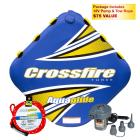 Aquaglide 3-Rider Crossfire 3 Towable Tube Package