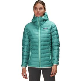 Patagonia Down Sweater Full-Zip Hooded Jacket - Wo