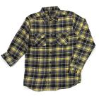 Young Mens Blue Gear Long Sleeve Plaid Flannel-5