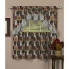 Achim Home Fashions Tier and Swag Set - Patches