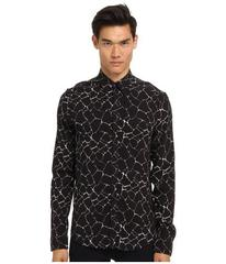 CoSTUME NATIONAL Printed Button Up Shirt