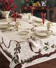 "Lenox Holiday Nouveau 60"" x 84"" Tableclo"