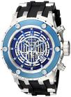 Invicta Subaqua Blue Skeletonized Dial Black Black