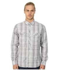 Marc Ecko Cut & Sew Adler L/S Woven Plaid Shirt