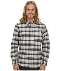 Hurley Ace Oxford The Plaid Long Sleeve