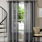 Victoria Classics Jacob Sheer Curtain Panel Pair -