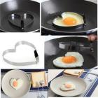 Bgood Cook Fried Egg Pancake Stainless Steel Heart
