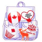 Canada Day Pin and Patch Set