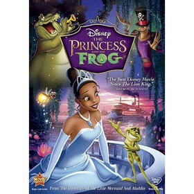 Disney The Princess and the Frog (dvd_video)