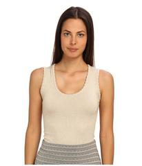 M Missoni Lurex Scallop Knit Tank