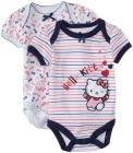 Hello Kitty 2 Pack Bodysuit (Baby) - Pink