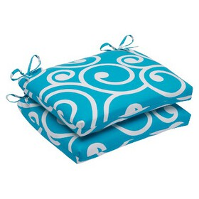 Pillow Perfect™ Best 2-Piece Squared Edge Sea