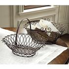 Zoe Wire Baskets - Assorted Set of 2