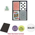 Trademark Poker Poker-Sized Plastic Playing Cards