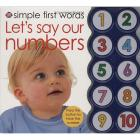 Simple 1st Words and Numbers Book
