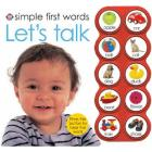 Simple First Words Let's Talk Sound Book