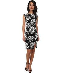 French Connection Shadlow Bloom Mono Dress 71DHW
