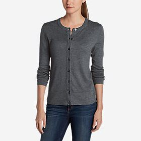 Women's Christine Cardigan Sweater - Solid