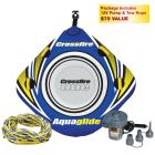 Aquaglide 1-Rider Crossfire One Towable Tube Packa