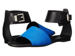 CoSTUME NATIONAL Color Block Flat Sandal