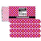 Tweezerman Hot for Dots Matchbox Itty Bitty Files