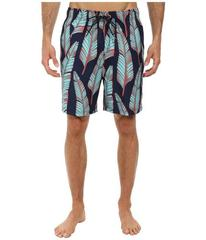 Nautica Leaves Print Trunk