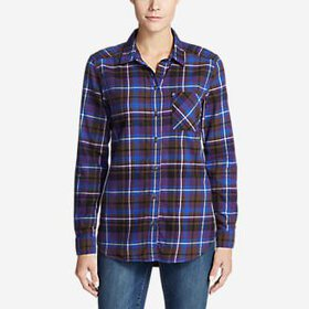Women's Stine's Favorite Flannel Shirt - O