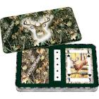 River's Edge Deer Playing Cards and Dice Set