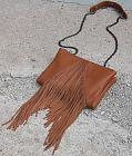 Moda Luxe Fringe Crossbody Purse