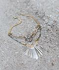 Gimmicks Glitz Fringe Necklace