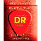 DR Strings Red Devils Light Acoustic Guitar String